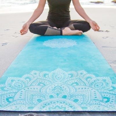 Podložka na Yogu Mandala Turquoise 1,5mm - 2