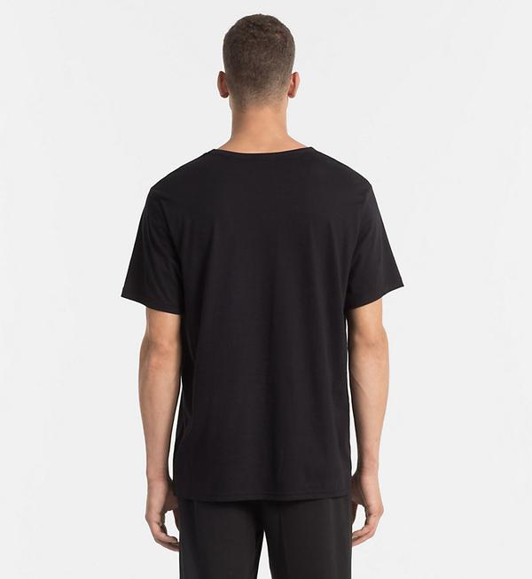 Calvin Klein Pánské Tričko Černé - 2