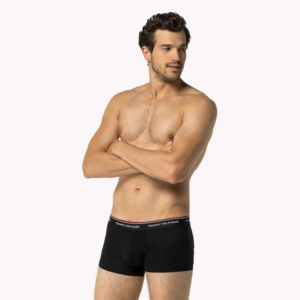 Tommy Hilfiger 3Pack Boxerky Black LR, XL - 2