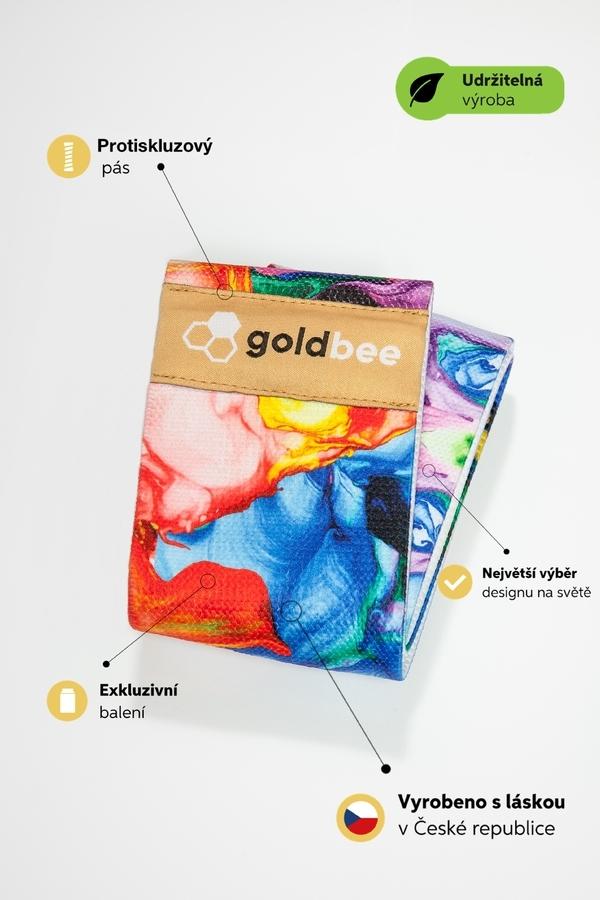 GoldBee Posilovací guma BeBooty #Ondrashtattoo - 2