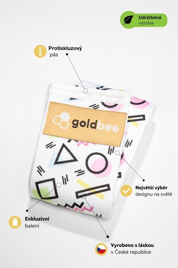 GoldBee BeBooty Geometrická, M - 2