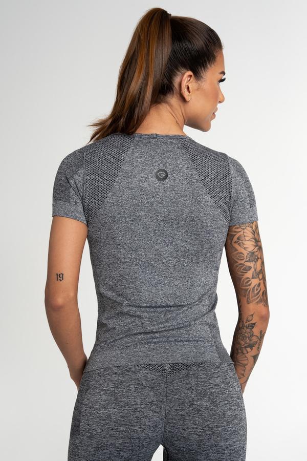 Gym Glamour Tričko Bezešvé Fusion Dark Grey, XS - 2
