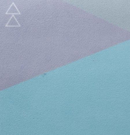 Podložka Na Yogu Geo Blue 1,5mm - 2