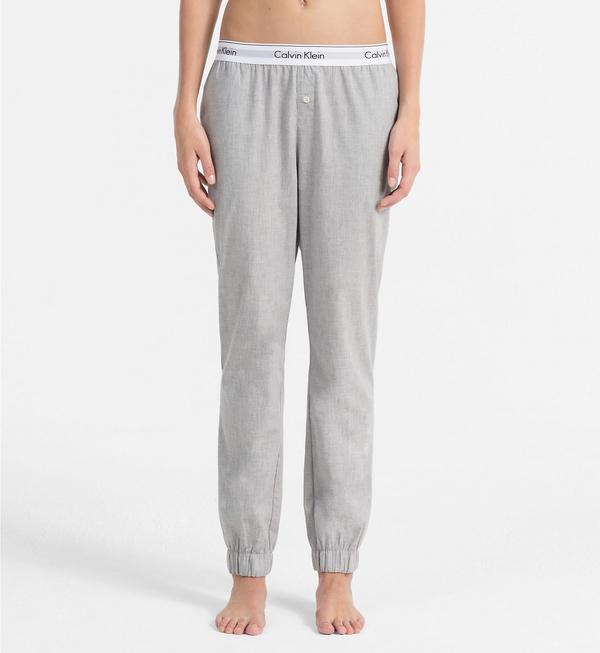 Calvin Klein Sweatpants Šedé, L - 2