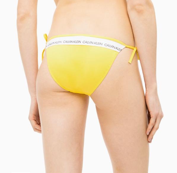 Calvin Klein Plavky CK Logo Yellow Spodní Díl, M - 2