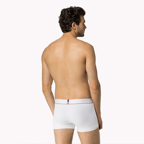 Tommy Hilfiger Boxerky Cotton Stretch Bílé - 2