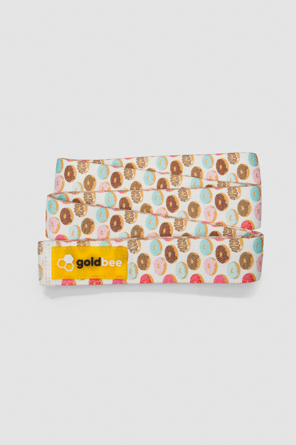 GoldBee Textilní Odporová Guma Dlouhá - Donuts, L - 2