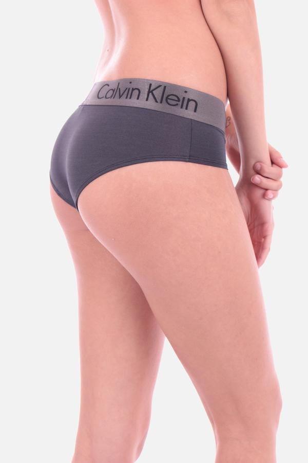 Calvin Klein Hipster Kalhotky Dual Tone Grey - 2