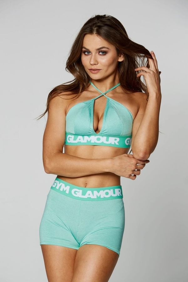 Gym Glamour Podprsenka Pistachio Sexy String - 2