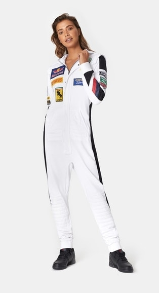OnePiece Overal Formula White - 2