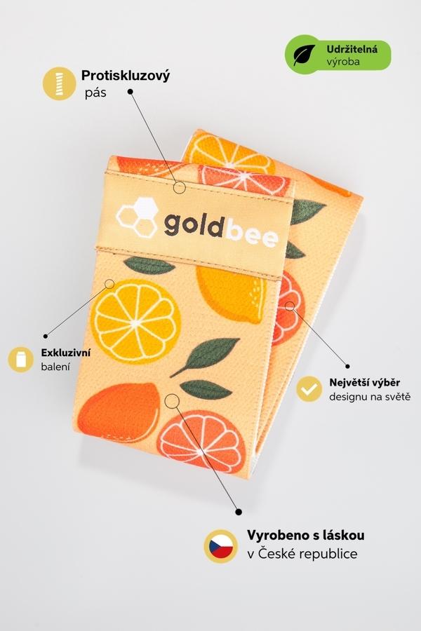 GoldBee Posilovací guma BeBooty Orange - 2