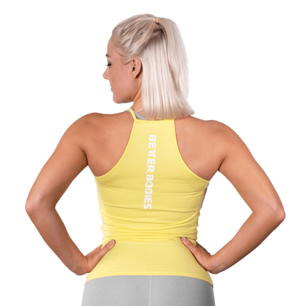 Better Bodies Tílko Performance Lemon Yellow, XS - 2