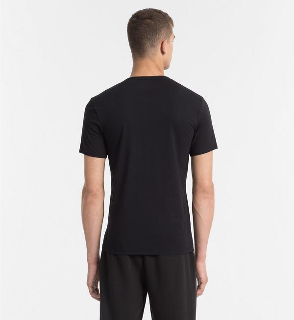 Calvin Klein Pánské Tričko S Logem Černé, S - 2