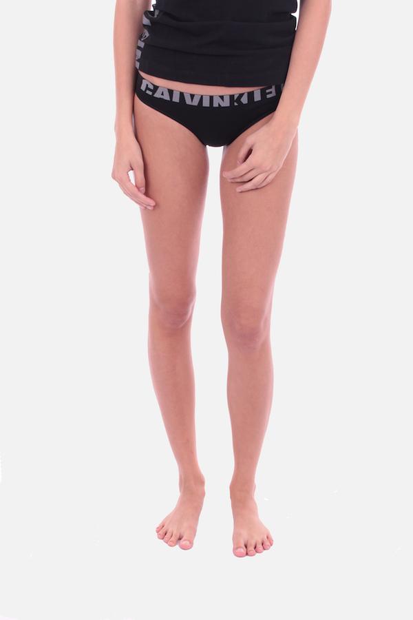 Calvin Klein Kalhotky Seamless Černé - 2