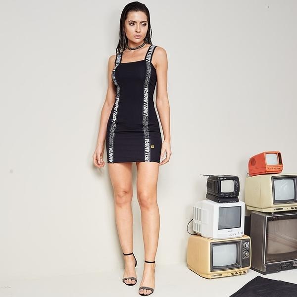 Labella Šaty Sportswear Black - 2