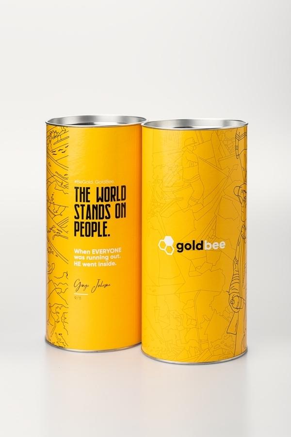 GoldBee Legíny BeSeamless Cappuccino - 2