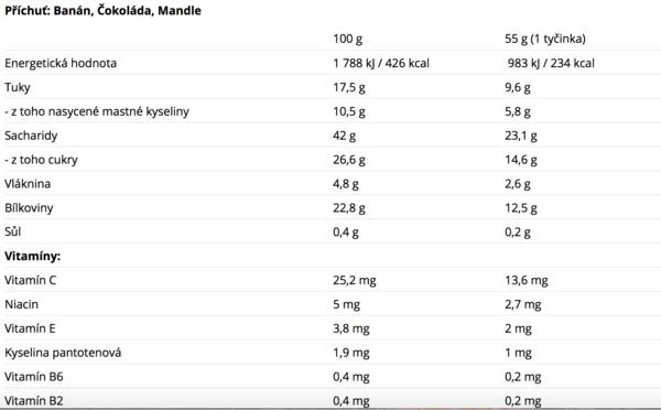 Nutrend Protein Bar Čokoládová - 2