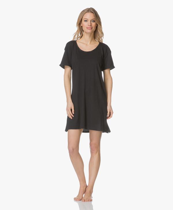 Calvin Klein Dámská Noční Basic Košilka Černá, L - 2