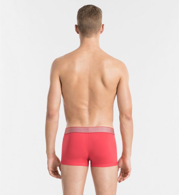 Calvin Klein Boxerky Customized Stretch Červené LR - 2