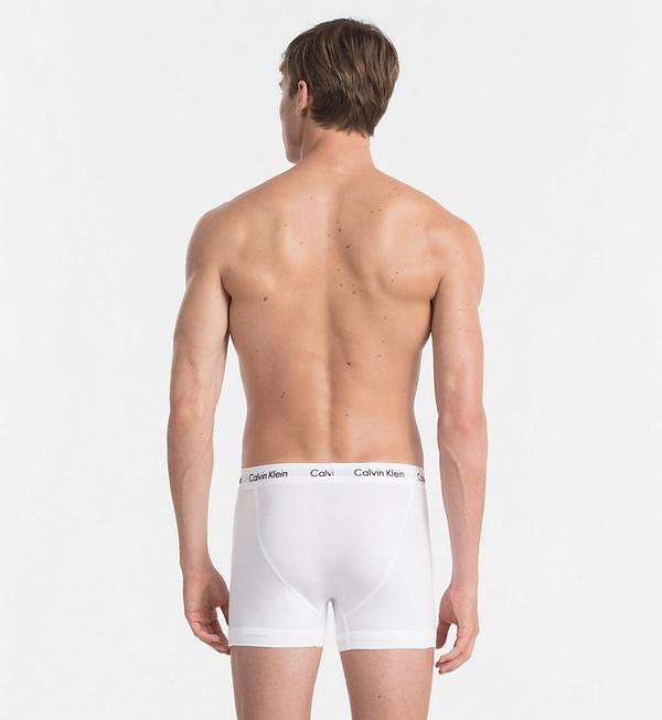 Calvin Klein 3Pack Boxerky Black, Grey&White, L - 2