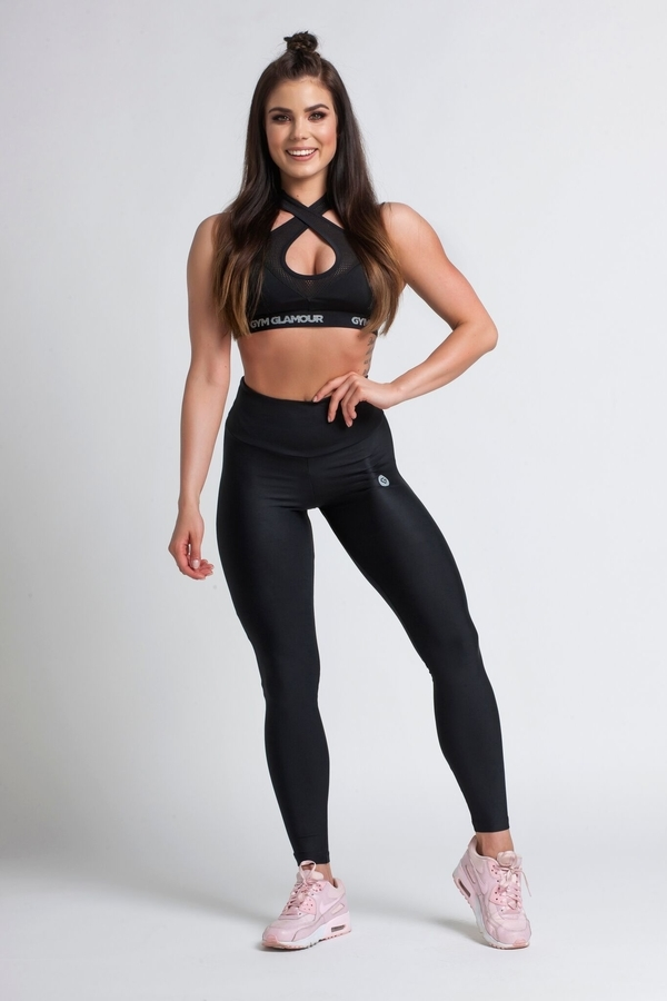 Gym Glamour Legíny Black, XS - 2