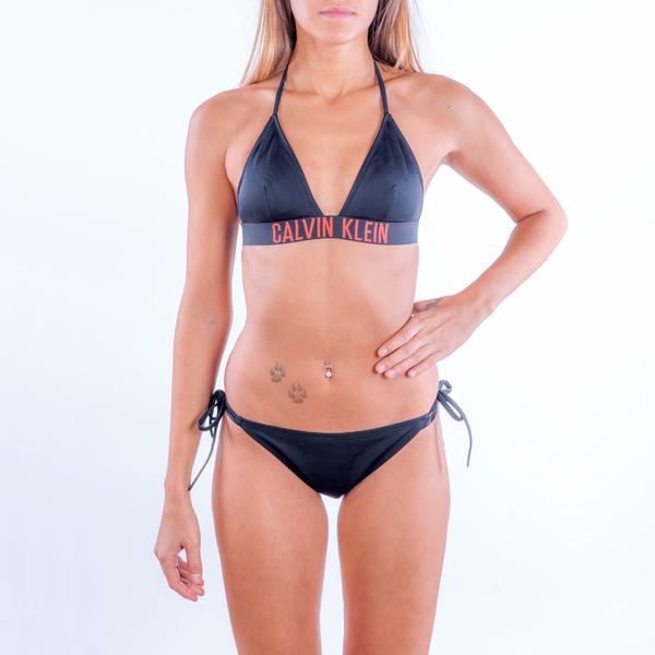 Calvin Klein Plavky Intense Power Spodní Díl Na Zavazování, S - 2