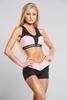 Gym Glamour Kraťásky Black & Pink, M - 2/3