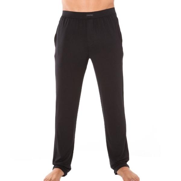Calvin Klein Pánské Kalhoty Na Doma Černé, S - 2
