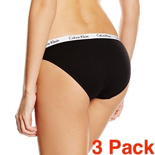Calvin Klein 3Pack Kalhotky Black, XS - 2