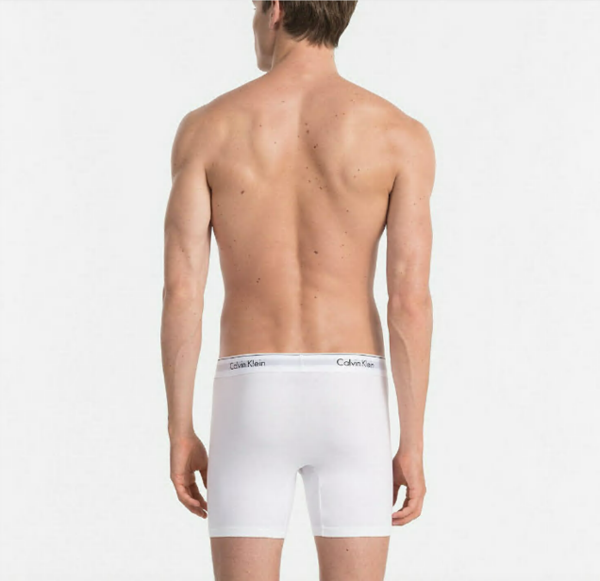 Calvin Klein 2Pack Boxerky Dlouhé White, L - 2