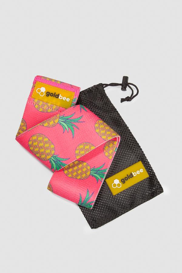 GoldBee Textilní Odporová Guma - Ananas, M - 2