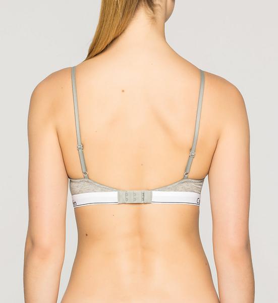 Calvin Klein Podprsenka Modern Cotton T-Shirt Šedá - 2