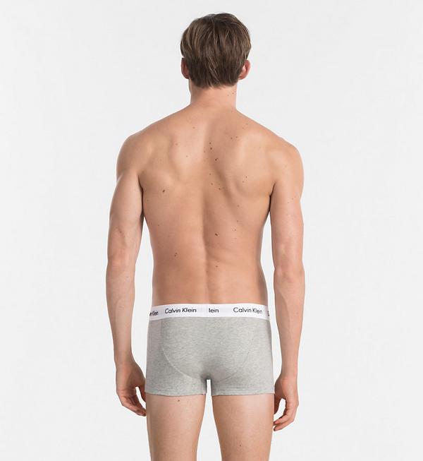 Calvin Klein 3Pack Boxerky Black, Grey&White LR, XL - 2