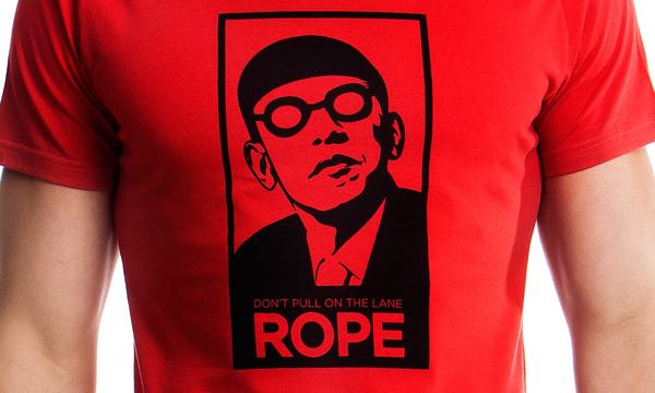 Funkita Pánské Tričko Pull The Rope Červené, L - 2