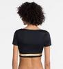 Calvin Klein Crop Top Active Beach Black&Gold, S - 2/4