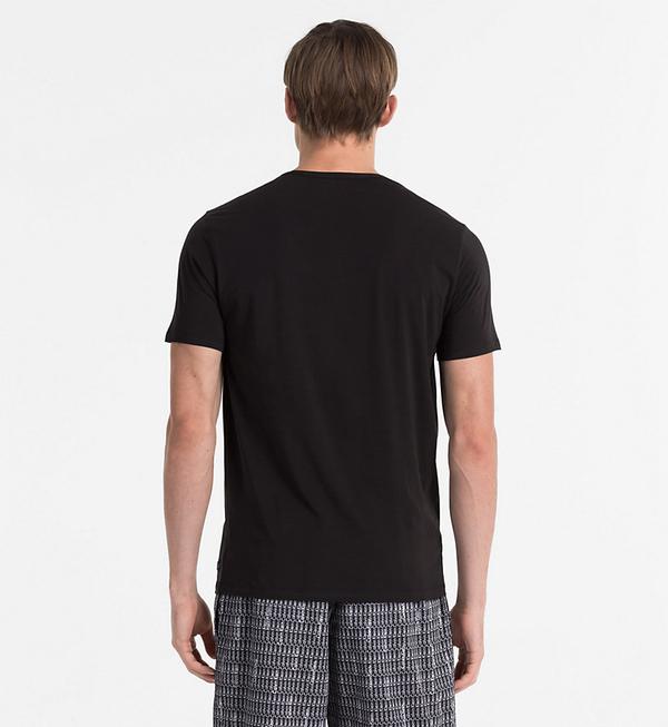 Calvin Klein Pánské Tričko CK Black, S - 2