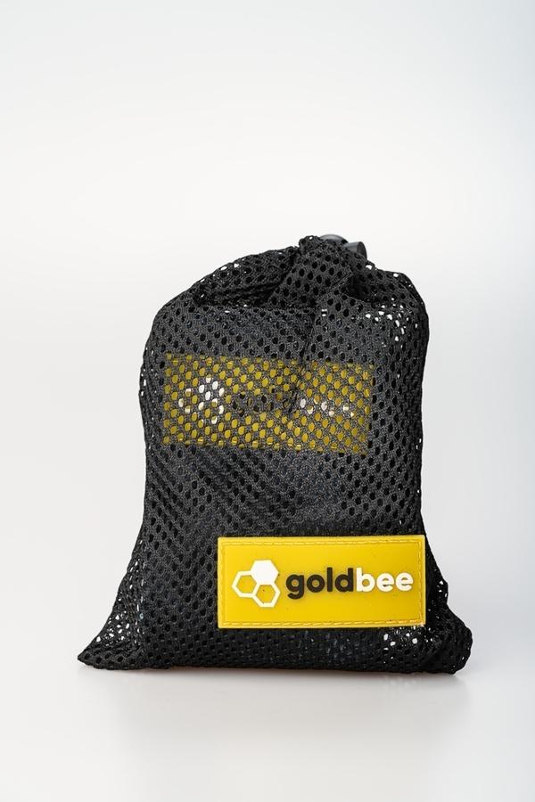 GoldBee Textilní Odporová Guma - Černá Tygrovaná, M - 2