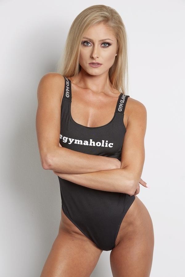 Gym Glamour Bodyčko Černé, S - 2