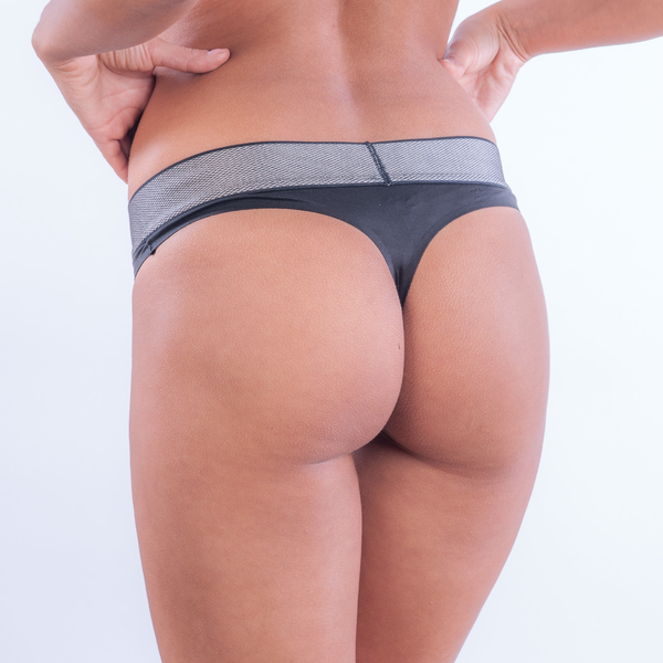 Calvin Klein Tanga Customized Stretch Black, L - 2