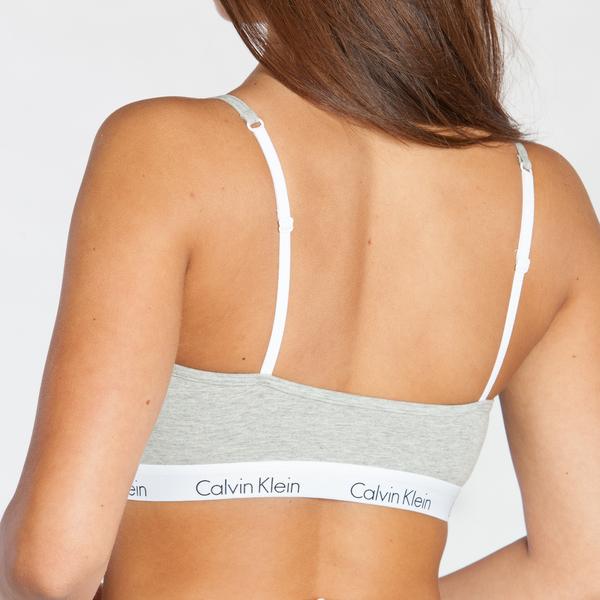 Calvin Klein Podprsenka Grey, S - 2