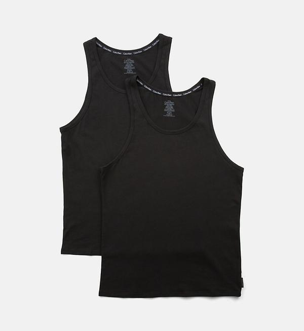 Calvin Klein 2Pack Tílka Pánská Černá, S - 2