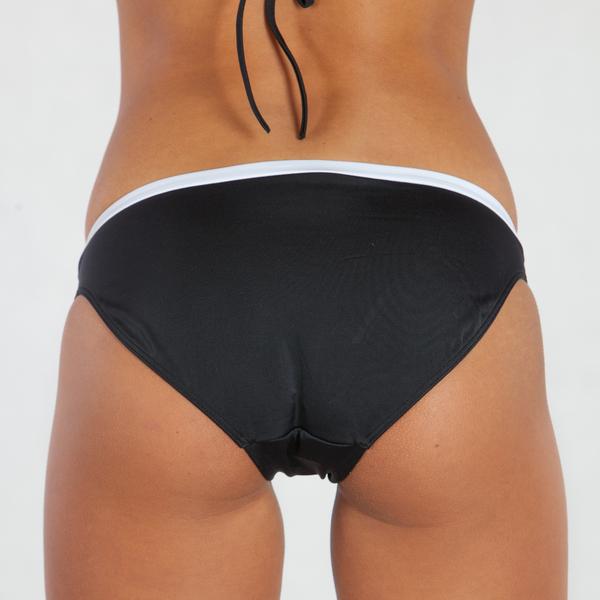 Calvin Klein Plavky Bandeau Černé Spodní Díl, XS - 2