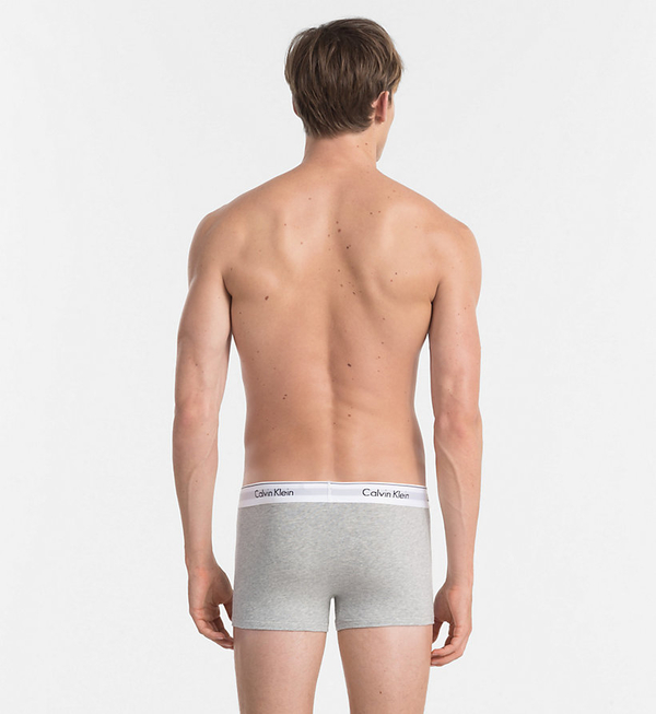 Calvin Klein 2Pack Boxerky Black And Grey, L - 2