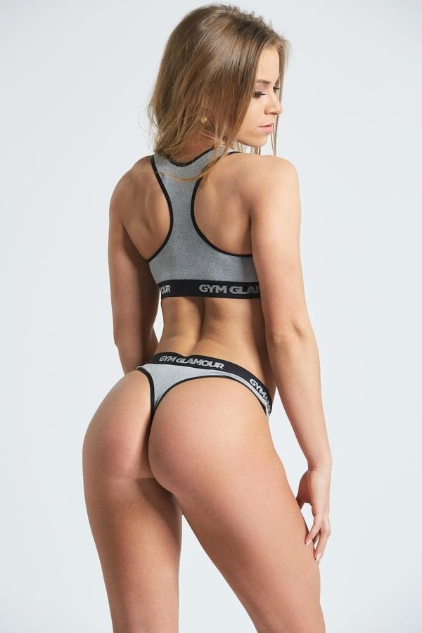 Set Spodní Prádlo Gym Glamour Grey, XS - 2