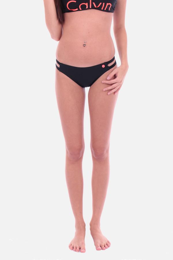 Calvin Klein Cheeky Bikini Plavky Black Spodní Díl, XS - 2
