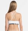 Calvin Klein Podprsenka Longline White, L - 2/3