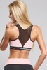 Gym Glamour Podprsenka Pink Zipped, S - 2/3