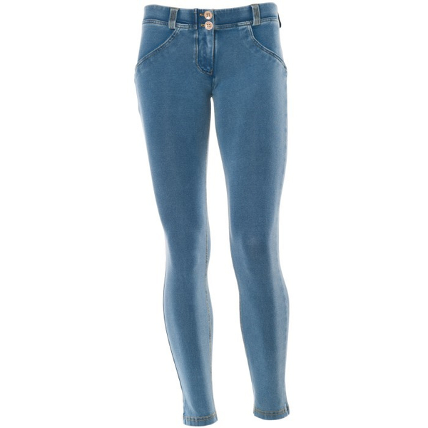 Freddy Jeans 7/8 Světle Modré SS18 Snížený Pas, S - 2