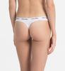 Calvin Klein 3Pack Thong Black&White, XS - 2/3