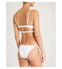 Calvin Klein Plavky Neo Triangle Bílé Vrchní Díl, S  - 2/3